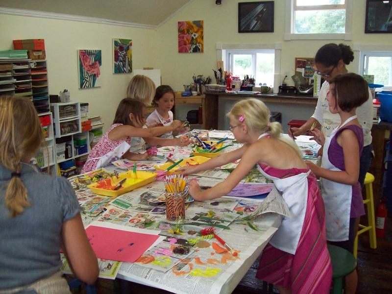Art Classes at Cinnamon Fern Studio
