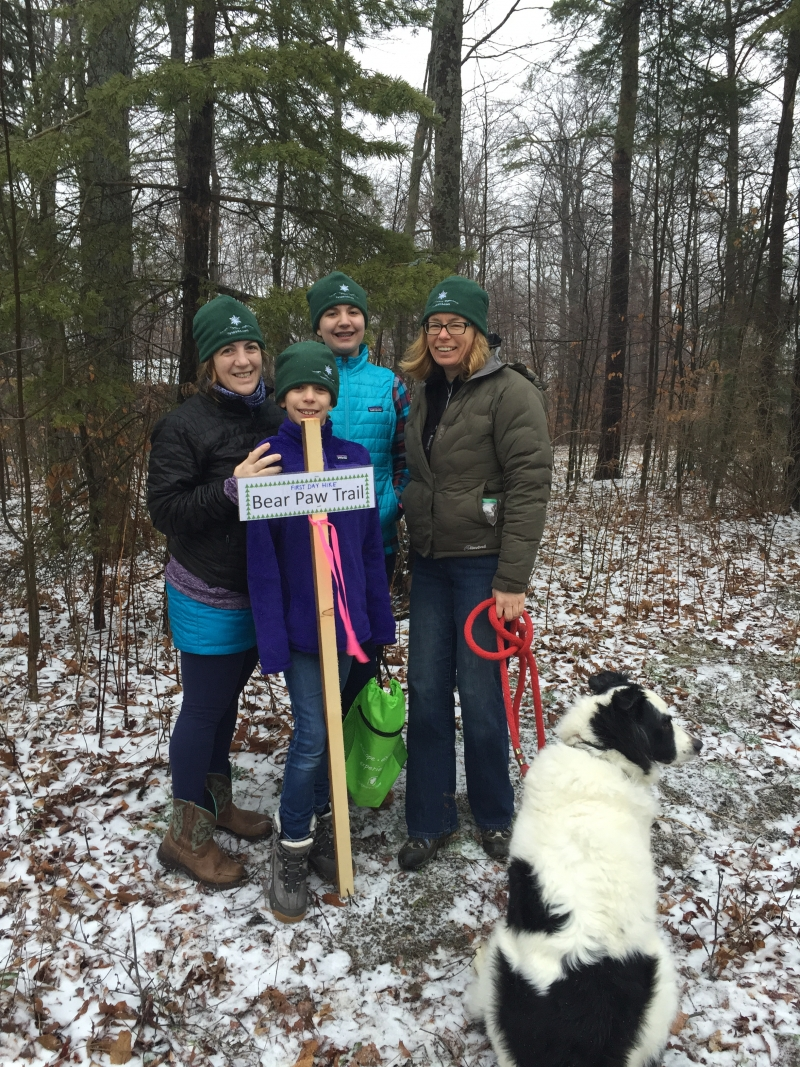 Bear Paw Tuesday Night hikes at Allegany State Park
