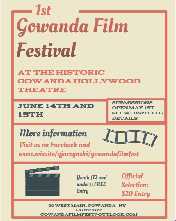 Gowanda's 1st Annual Film Fest