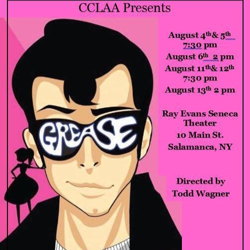 Grease at the Ray Evans Seneca Theater in Salamanca