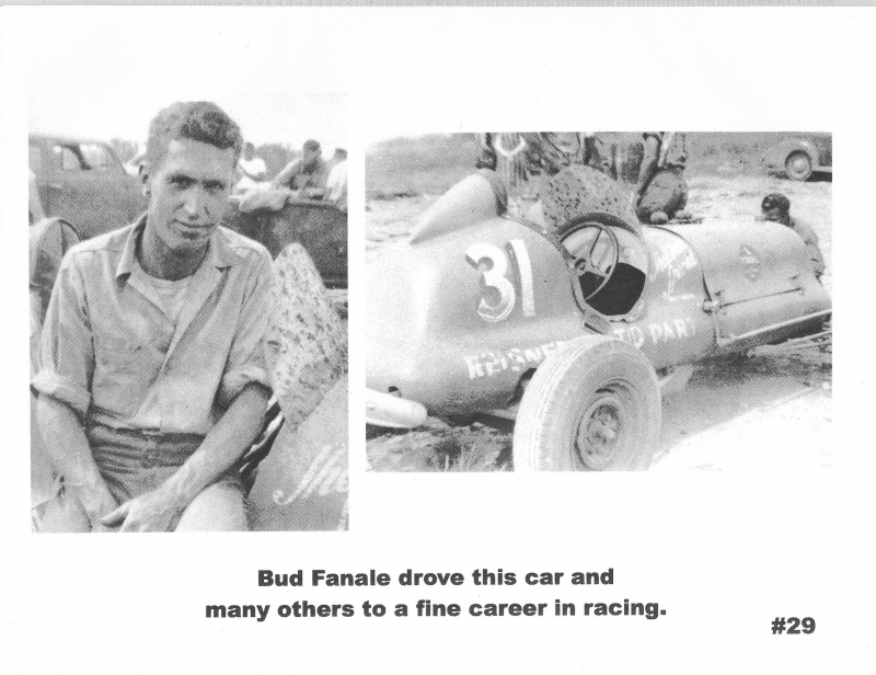 One of the racers and his car.