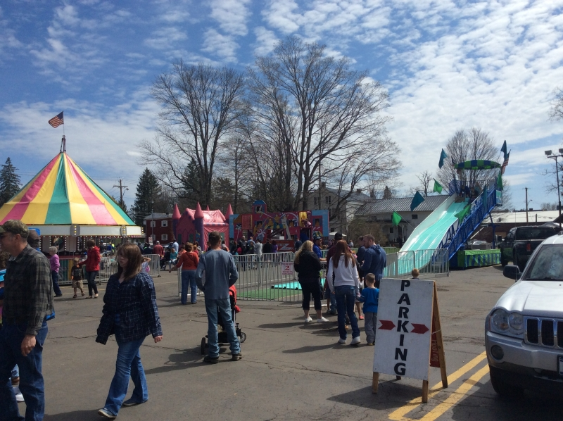 Photo from past WNY Maple Festival in Franklinville, NY