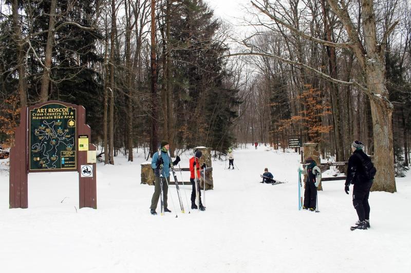 XC Ski Tours at Allegany State Park
