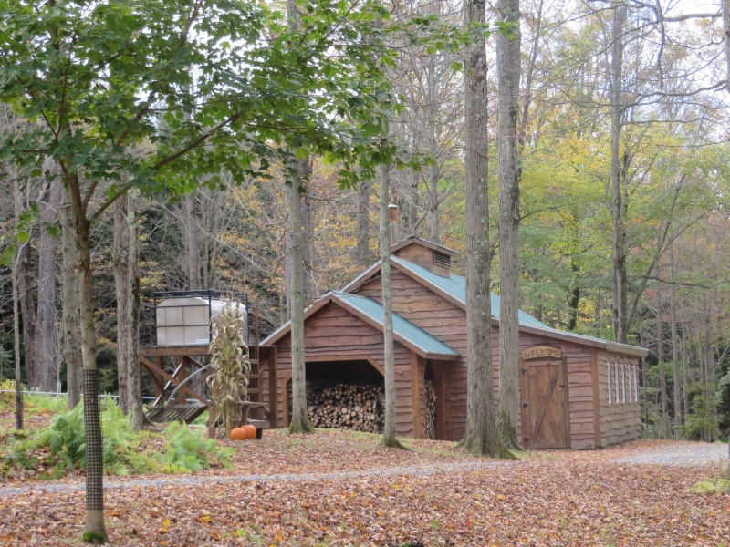 Take a hike or ride up to the Sugar House!