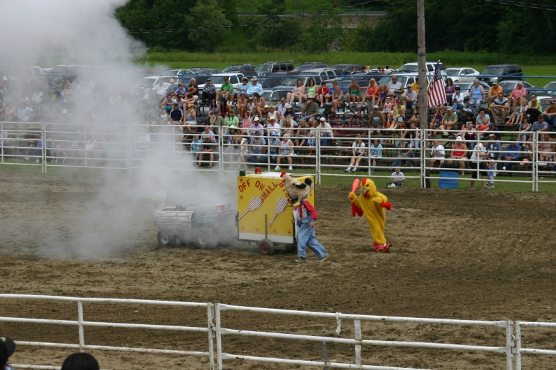Fun at the Ellicottville Rodeo