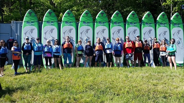 Intro to Stand Up Paddleboard Classes Ellicottville
