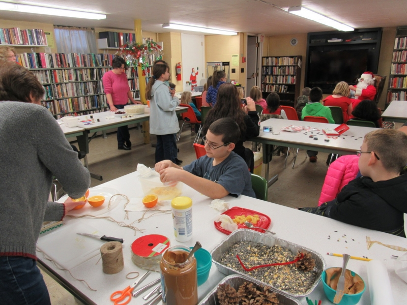 Pfeiffer Nature Center hosts Kids Nature Crafts at Portville Library