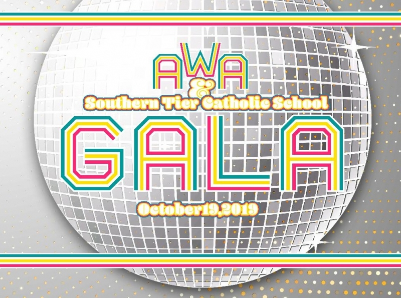 2019 Eagles Gala Auction at Archbishop Walsh Academy Logo