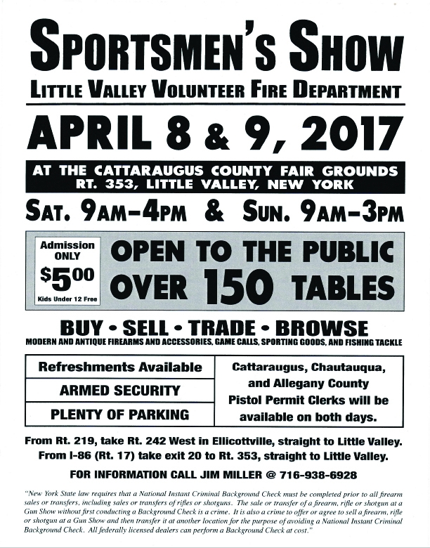 Little Valley Sportmen's Show