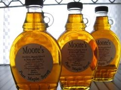 Yummy syrup from Moore's