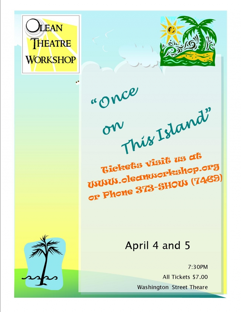 Once on this Island poster
