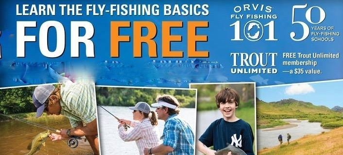 Orvis Fly Fishing 101 with Adventure Bound on the Fly
