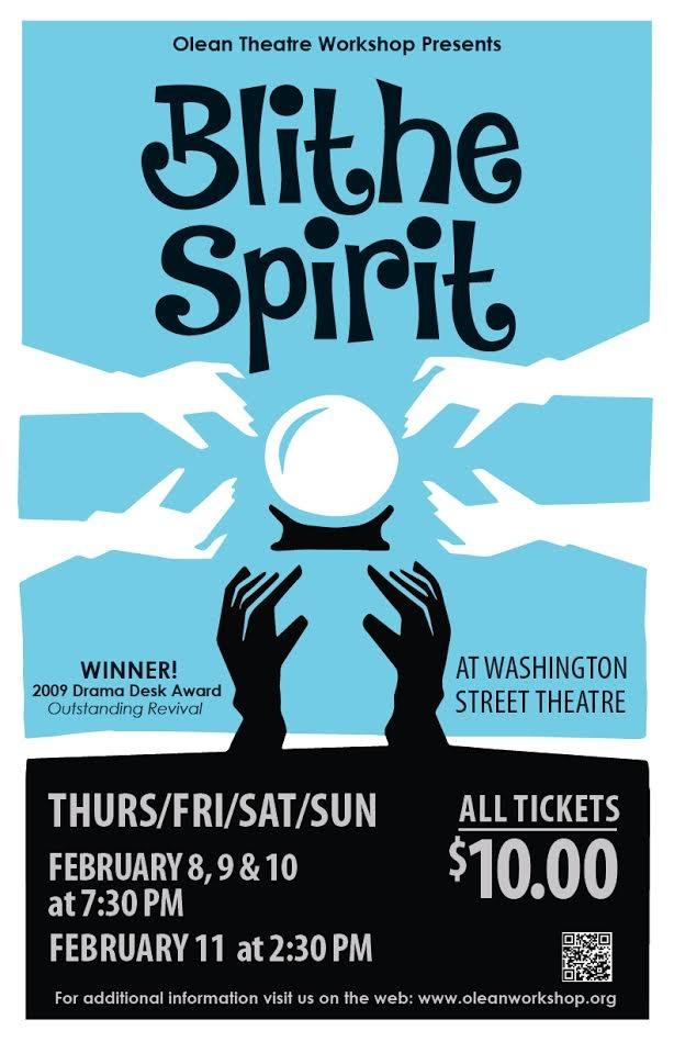"Olean Theatre Workshop presents ""Blithe Spirit"""