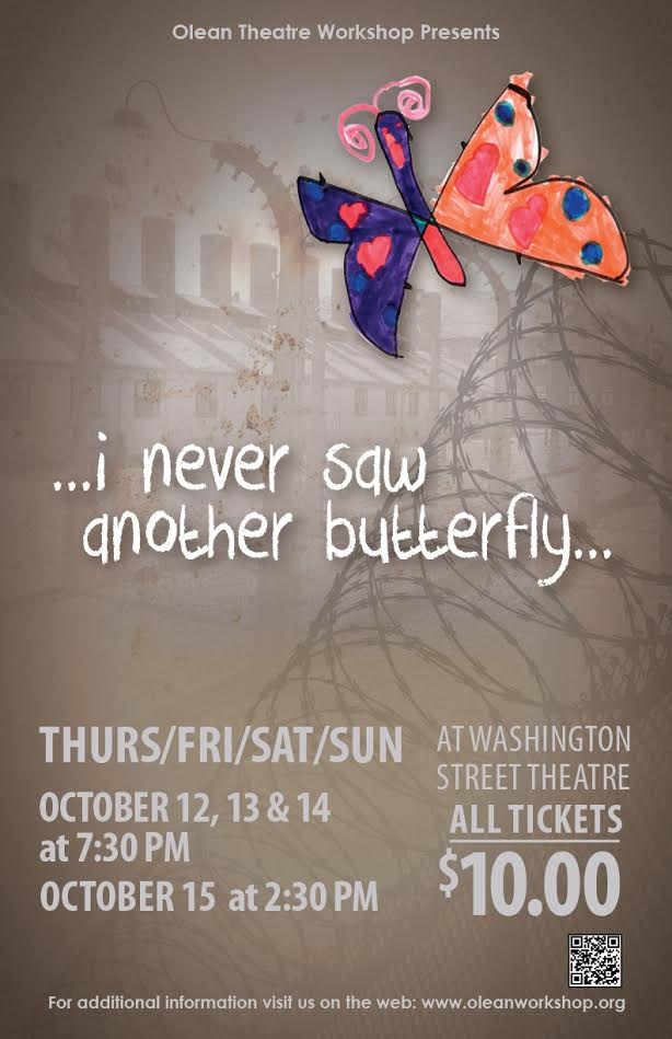 Olean Theatre Workshop Never Saw Another Butterfly