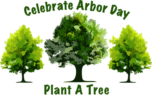 Celebrate Arbor Day Plant a Tree Clipart