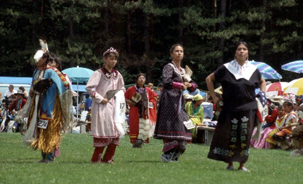 Dancers at the Pow Wow