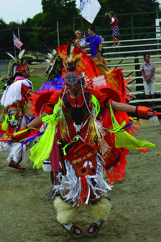 part of the Intertribal dance