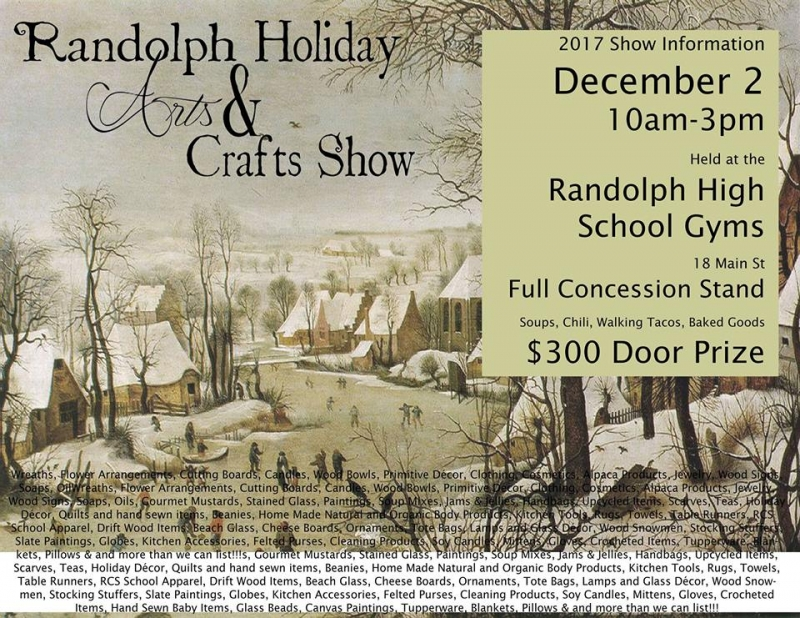 2017 Randolph School Arts $ Crafts Show