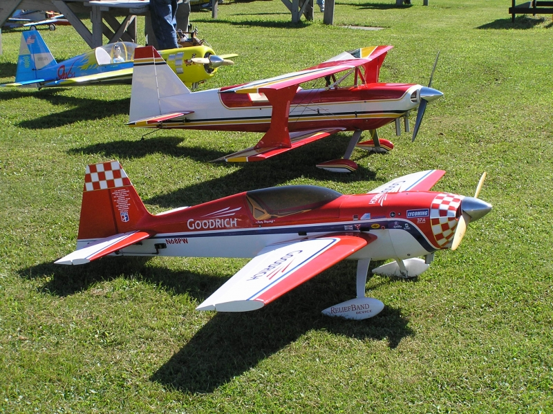 Picture of 3 radio controlled planes from RCStars.org