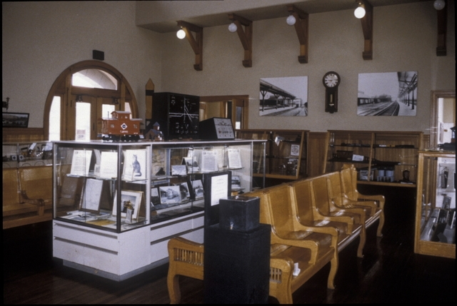 Inside the Salamanca Rail Museum