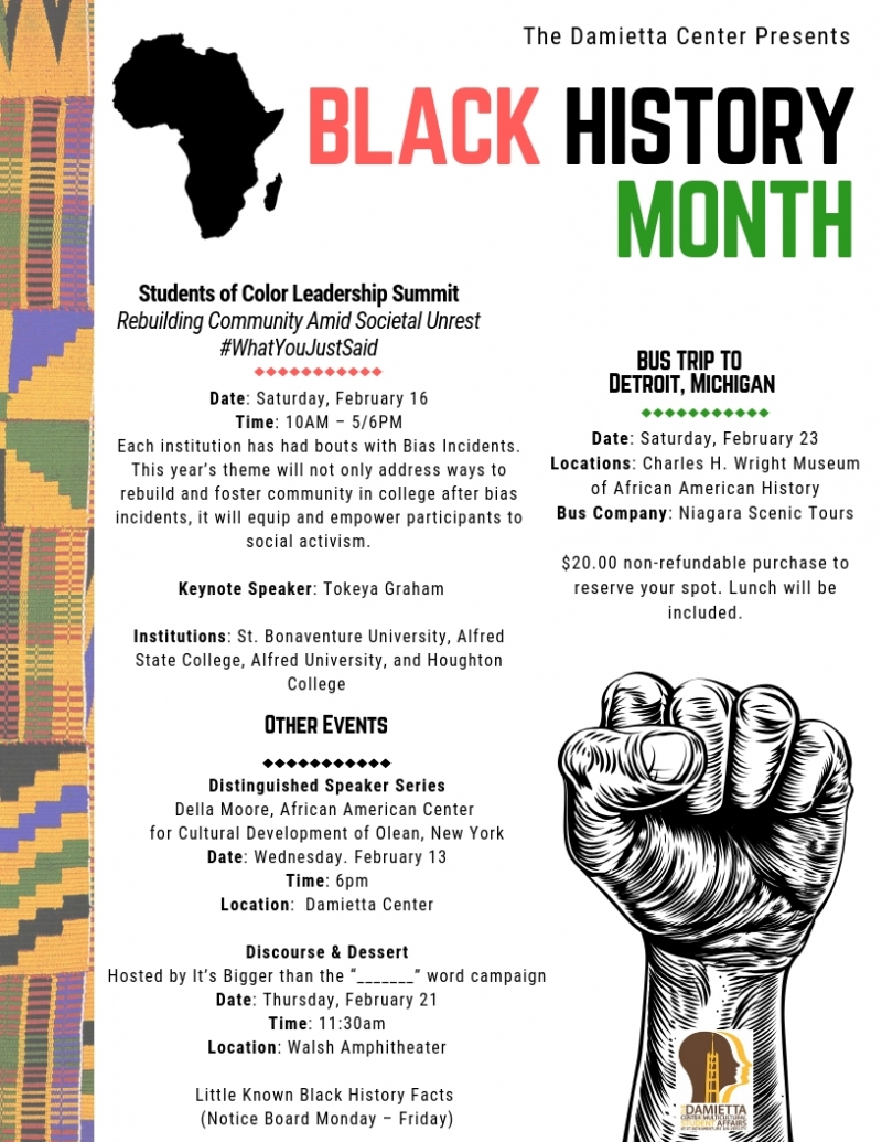 Black History Month at SBU