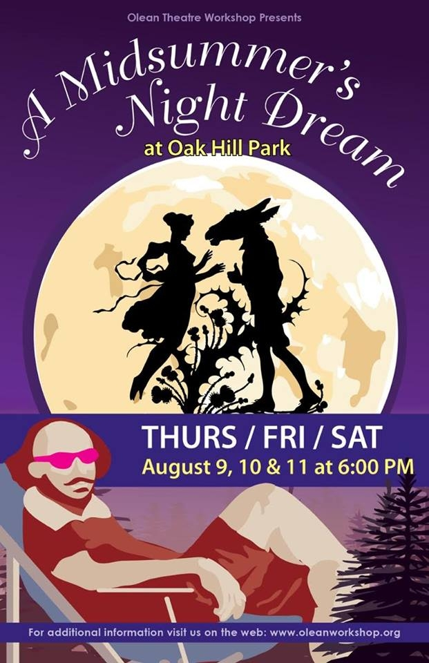 Shakespeare in the Park Olean 2018