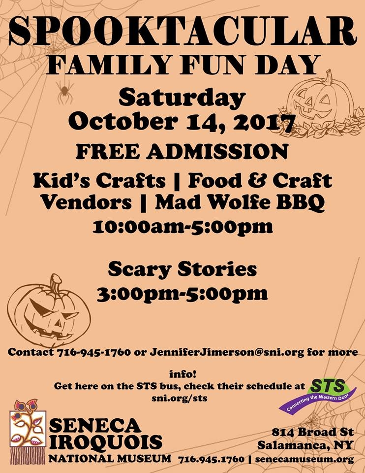 Family Fun Day at Seneca Iroquois National Museum