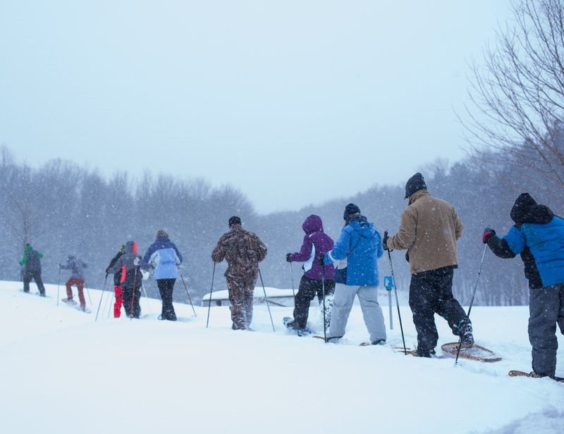 Snowshoe Event at Pfeiffer Nature Center