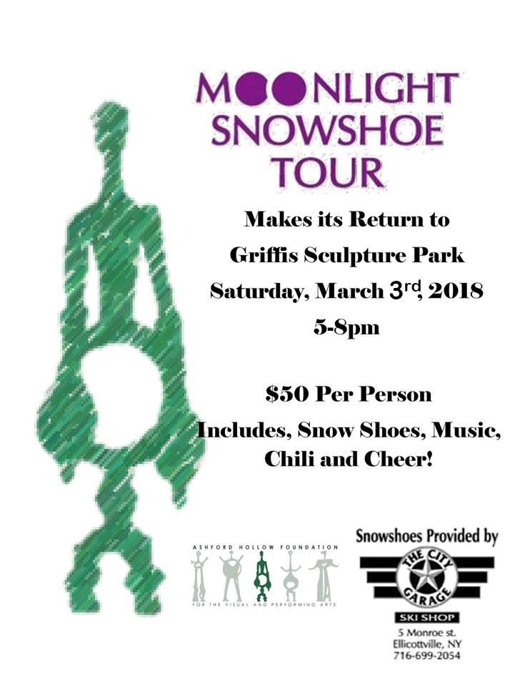 Moonlight Snowshoe Tour Griffis Park 2018