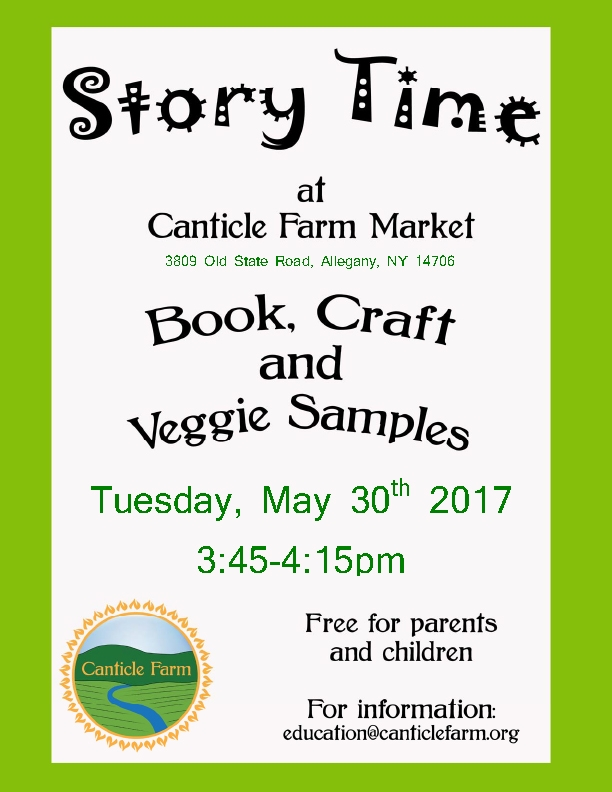 Story Time at Canticle Farm