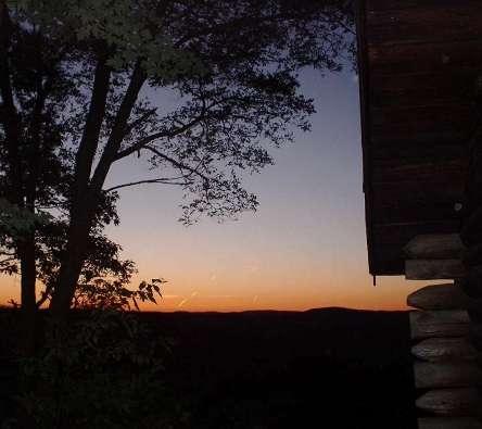 Sunset at Pfeiffer Nature Center