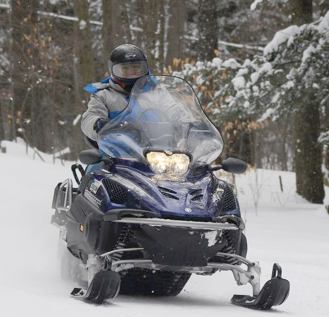 Snowmobile course offered