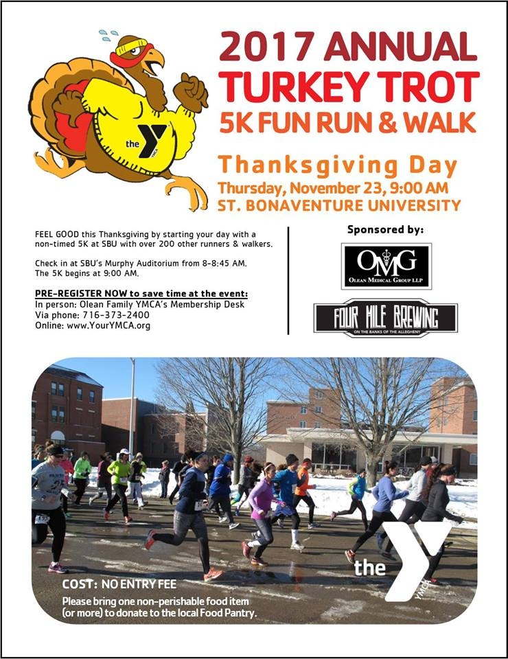 2017 Turkey Trot at St. Bonaventure University