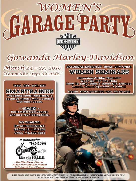 Women's Garage Party