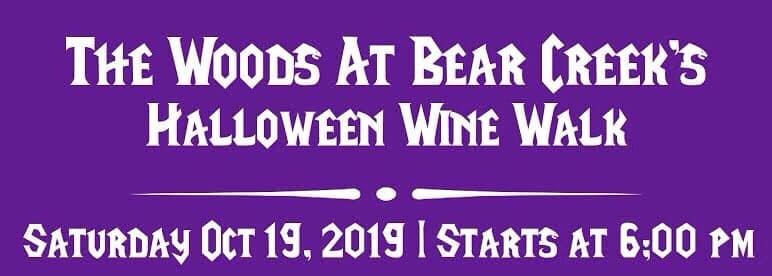 2019 Haunted Wine Walk at the Woods at Bear Creek