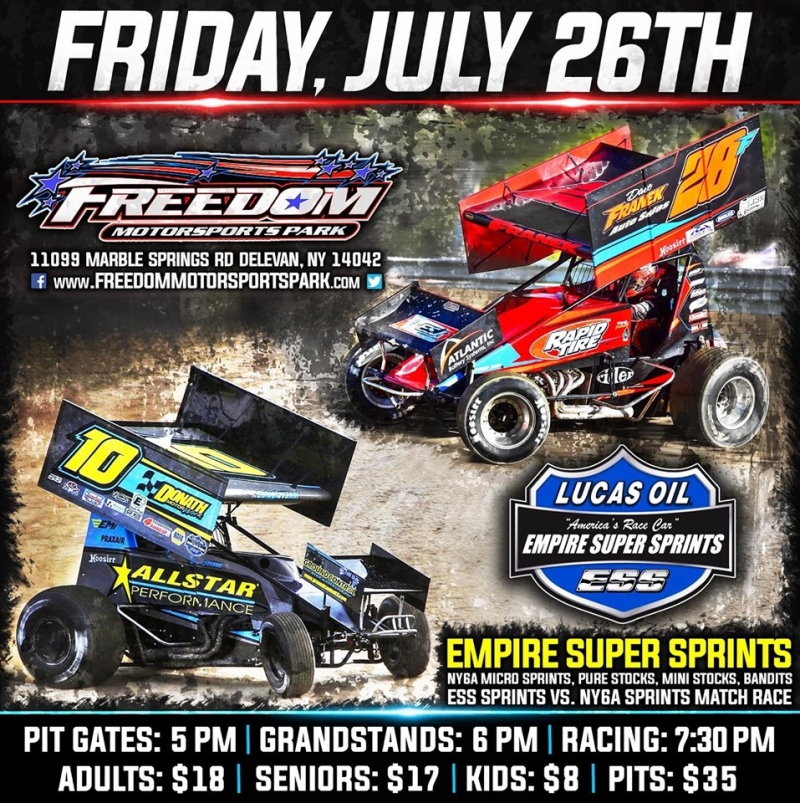 Freedom Motorsports Park Lucas Oil Empire Super Sprints | Enchanted