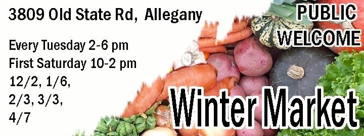 Canticle Farm's Winter Market