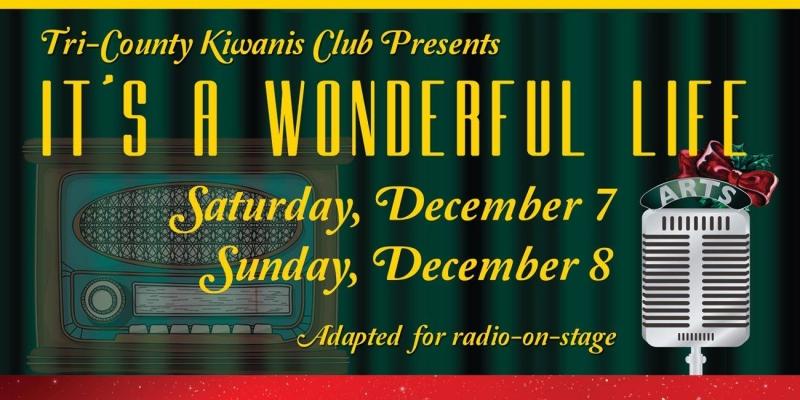 It's Wonderful Life radio-on-stage Flyer