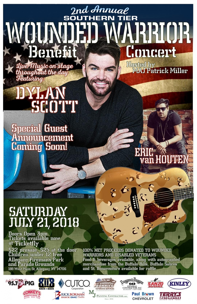 Wounded Warrior Concert Allegany 2018