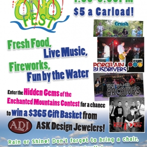 OnoFest Poster for July 27, 2013 at the Onoville Marina