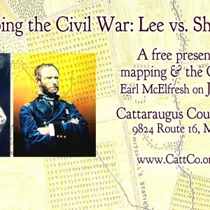 Mapping the Civil War: Lee vs. Sherman presentation by Earl McElfresh
