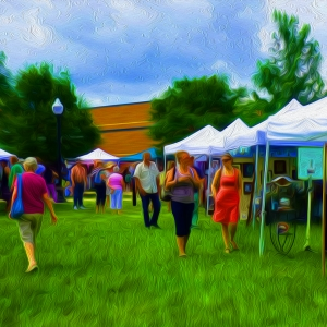 """""""Art in the Park"""" by Susan Andrews"""