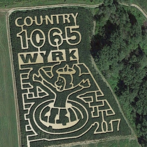 Curious George Maze at Pumpkinville
