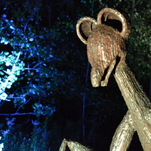 Night Lights at Griffis Sculpture Park 2018
