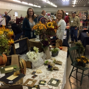 Vendors and shoppers at WILMA