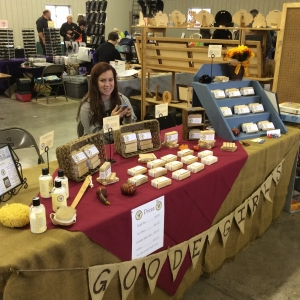 Goode Girls goat-milk soap