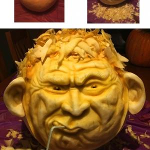 Eric Jones 3D Pumpkin Carving
