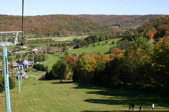 Fall Fest in Ellicottville, New York