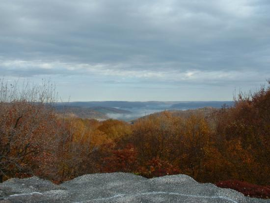Autumn Hills from Rock City Park