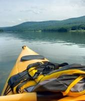 kayaking at Allegany State Park